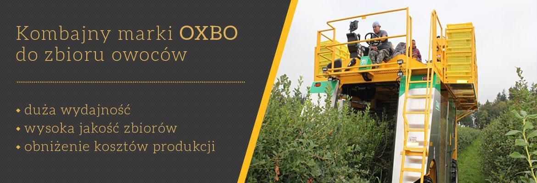 Kombajn OXBO do zbioru owoców